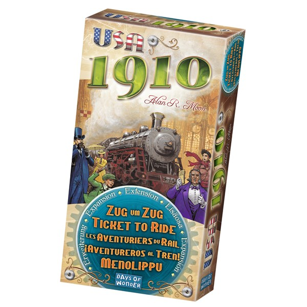 Ticket To Ride, 1910 Expansion