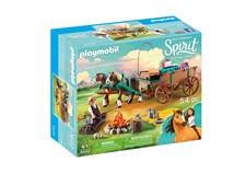 Luckys pappa och vagn, Playmobil Spirit (9477)