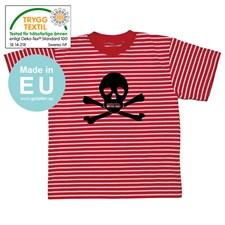 Stripete T-skjorte, Pirat, Small