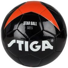 Fotboll Star Ball, Svart, Stiga