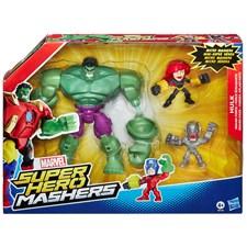 Super Hero Mashers, Stor figur og mikrofigurer, Hulk, Avengers