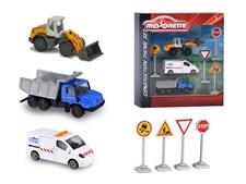 Trafikset konstruktion, fordon och vägskyltar