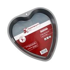 Iloleipuri Hjärta Bakform 1.3 L Kolstål Grå