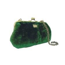 Clutch Fiesta Furry Chain, Green
