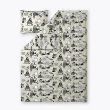 Vekaramuumi Puuvilla Pussilakansetit Harmaa 150 x 210 cm +50 x 60 cm