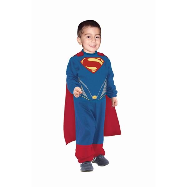 27eac452e829 Stålmannen Dräkt Barn (6-12 mån), Rubies UK - maskeradkläder barn ...
