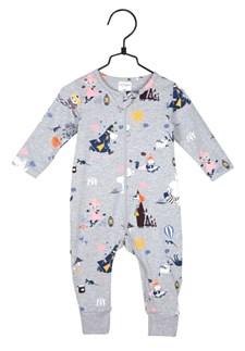 Höststund pyjamas grå, strl 74, mumin