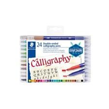 Design Journey Dubbel Kalligrafipennor 24-pack Staedtler