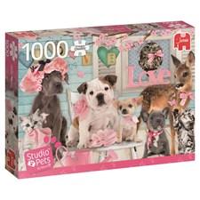 Studio Pets, True love, Pussel 1000 bitar, Jumbo