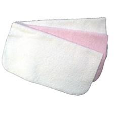 Tvättlappar 3-pack, Rosa, NG Baby