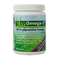 Vegetabilisk Omega 3, 60 kapslar