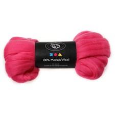 Merinoull, 21 my, 100 g, pink