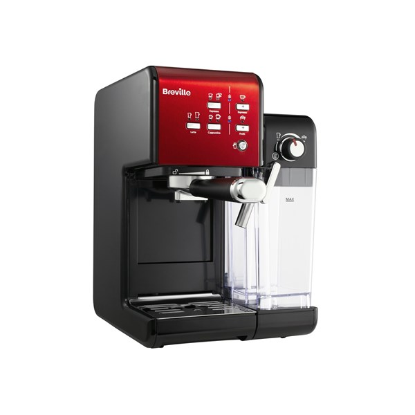 Breville VCF108X Espressomaskin Prima Latte II Röd (rød)