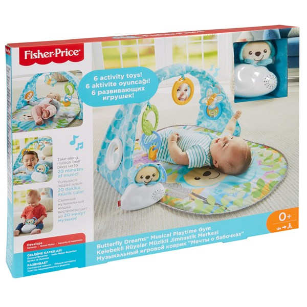 Butterfly Dreams Musical Playtime Gym, Fisher-Price
