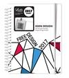 Kalenteri A6 2017 Letts Free Design viikkoaukeama