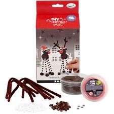 Hobbypakke Christmas Friends, H: 17 cm, 1 sett