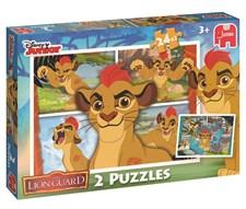Lion Guard pussel, 2-in-1, Jumbo