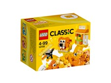 Oransje kreativitetsboks, LEGO Classic (10709)