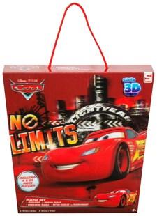 3D Pussel 4-Pack, Disney Cars