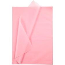 Silkkipaperi, arkki 50x70 cm, 19 g, 25 ark, pinkki