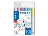Märkpenna PILOT Pintor F 6 fär Past Mix