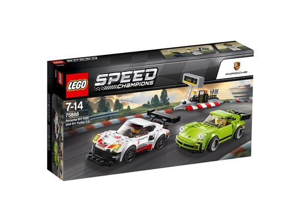 Porsche 911 RSR och 911 Turbo 3.0, LEGO Speed Champions (75888)