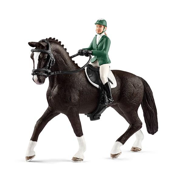 Showjumper med Häst  Schleich - figurer & miniatyrer