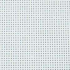 Aidastoff, str. 50x50 cm, 1 stk., råhvit