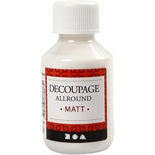 Decoupagelakka, matta, 100ml