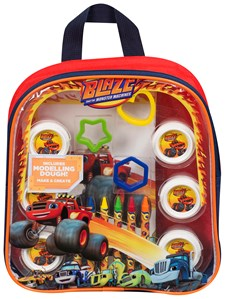 Blaze Dough Activity Backpack, Blaze och Monstermaskinerna