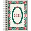 Kalender 2021 Veckokalender A6 Lingon Almanacksförlaget