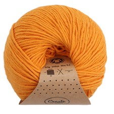 Adlibris Organic Cotton 50g Golden Sand A416