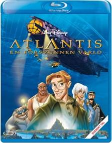 Disney Klassiker 40 - Atlantis - En försvunnen värld (Blu-ray)