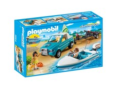 Pick-up med motorbåt, Playmobil Family Fun (6864)