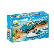 Pick-up med motorbåt, Playmobil Family Fun (6864)