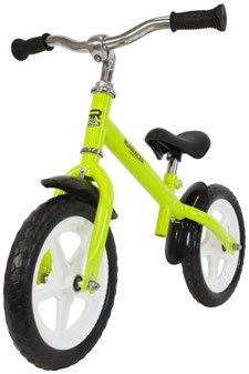 "Springcykel 12"", RunRacer, Lime, Stiga"