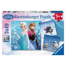 Disney Frost, 3x49 Bitar, Ravensburger
