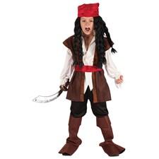 Karibisk Pirat Barn Maskeraddräkt (122-134)
